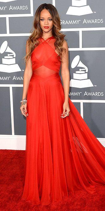Rihanna ...best dress of the evening #grammys