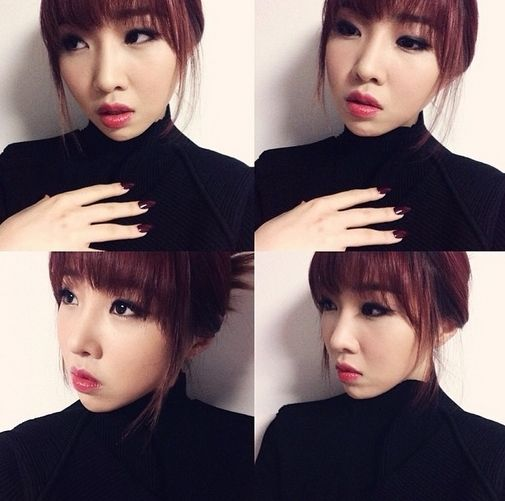 #2NE1 Minzy, Sophisticated Black Charisma More: http://www.kpopstarz.com/articles/83736/20140315/2ne1-minzi-sophisticated-black-charisma.htm