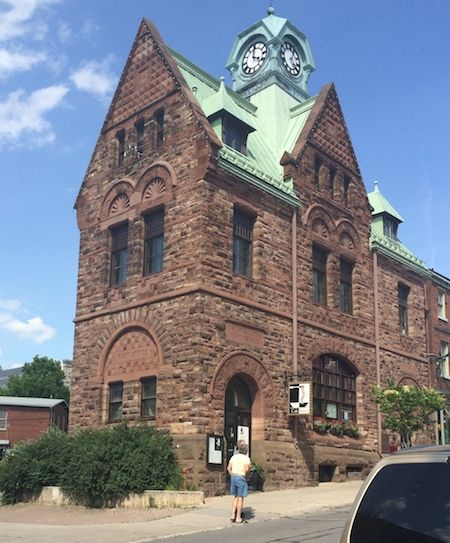The old post office/customs office in Almonte--beautiful Victorian building in a charming small Ontario town