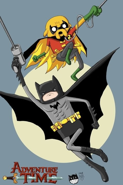 Adventure Time! - Batman and Robin