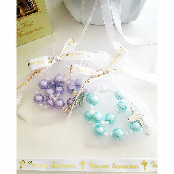 A DOZEN Beautiful Pearl Rosary bracelets. Primera by Beautifyyou