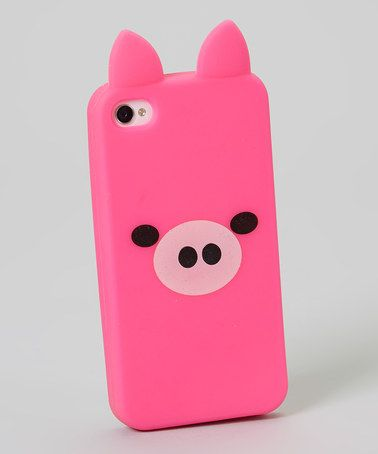 Pink Pig Case for iPhone 4/4s by Estee & Lilly #zulily #zulilyfinds