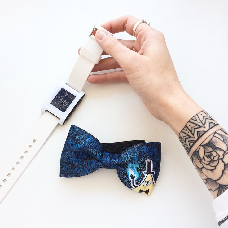 New bow tie with Bill from Gravity Falls 💙 Available for order!