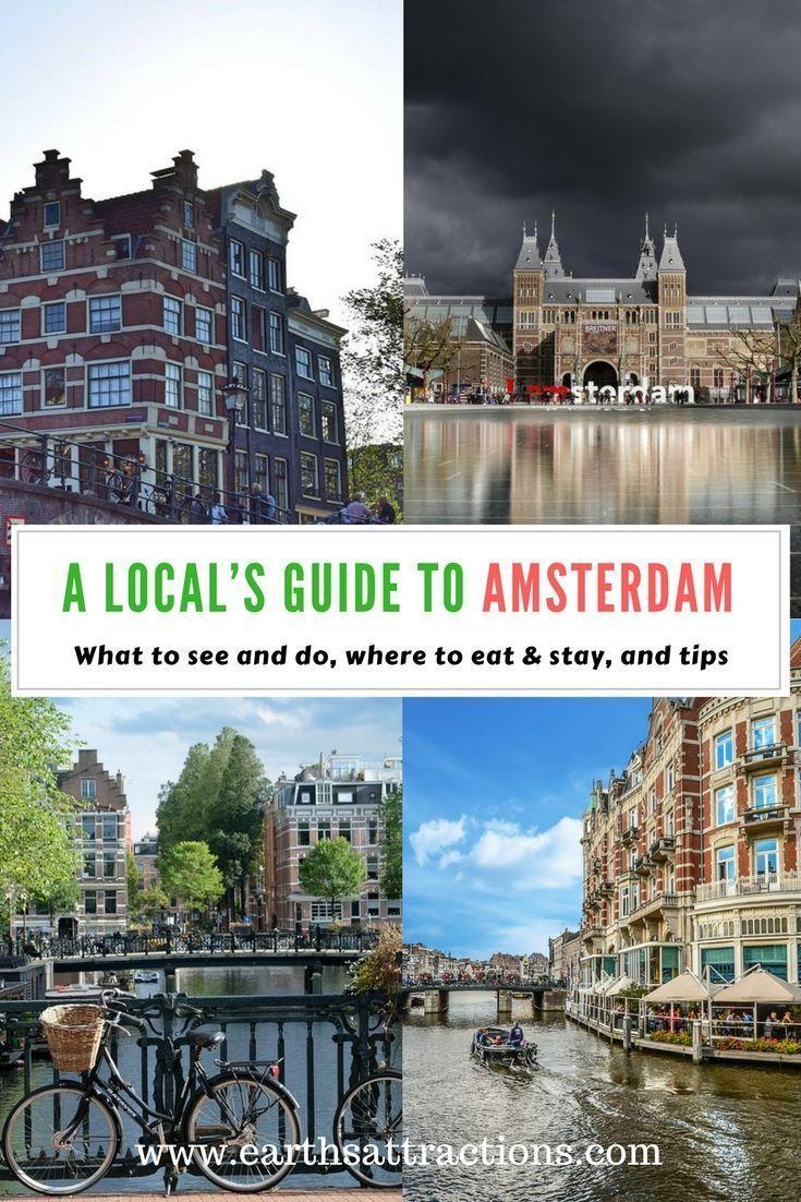 Una guida locale per Amsterdam, Paesi Bassi
