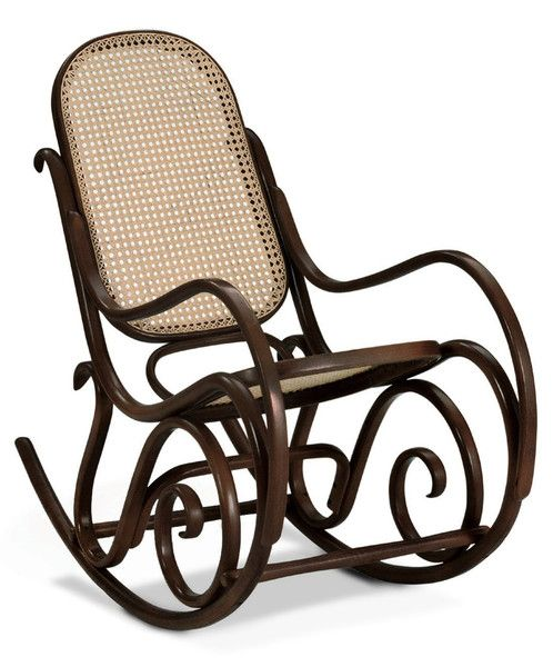 BON CLASSIC BENTWOOD ROCKING CHAIR - DARK WALNUT by Bon Bentwood Free Shipping Australia Wide