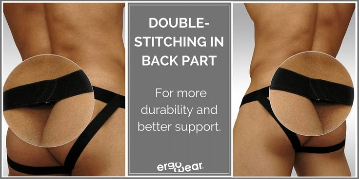 Double-stitching in back part, for more durability and better support
