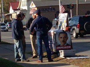 Lyndon LaRouche 'Impeach Obama' Demonstration Held in Ilion