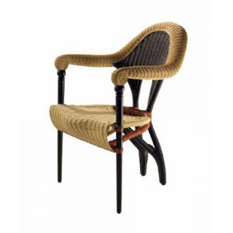 I had this Liba rattan chair designed by Borek Sipek.