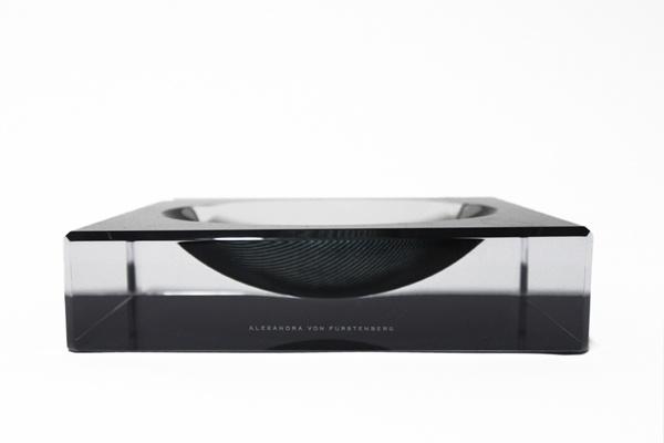 AVF Acrylic Carbon Fiber Printed Charm Bowl