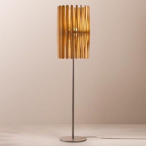 Stick led floor lamp cylinder