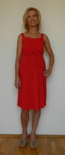 Rose Dress (red) - www.joliemaman.ro