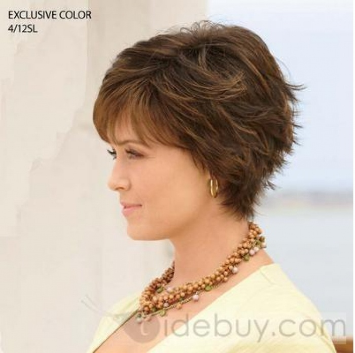 Custom Exquisite Women S Hairstyle Short Straight About 6inches Light Design 402x400 Pixel