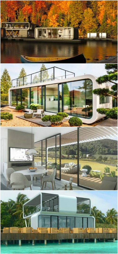 Eco Friendly and Modular Tiny House Lets You