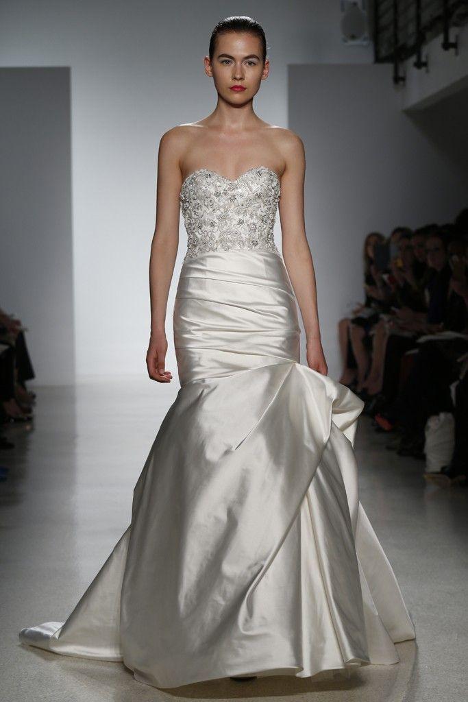 Kenneth Pool Bridal Spring 2015 - Slideshow - Runway, Fashion Week, Fashion Shows, Reviews and Fashion Images - WWD.com