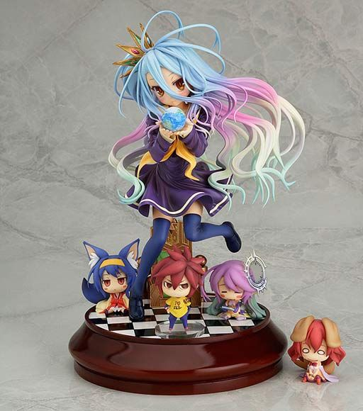 Shiro 1/7 Figure ~ No Game No Life $180 http://thingsfromjapan.net/shiro-17-figure-no-game-no-life/ #no game no life #shiro figure #Japanese anime