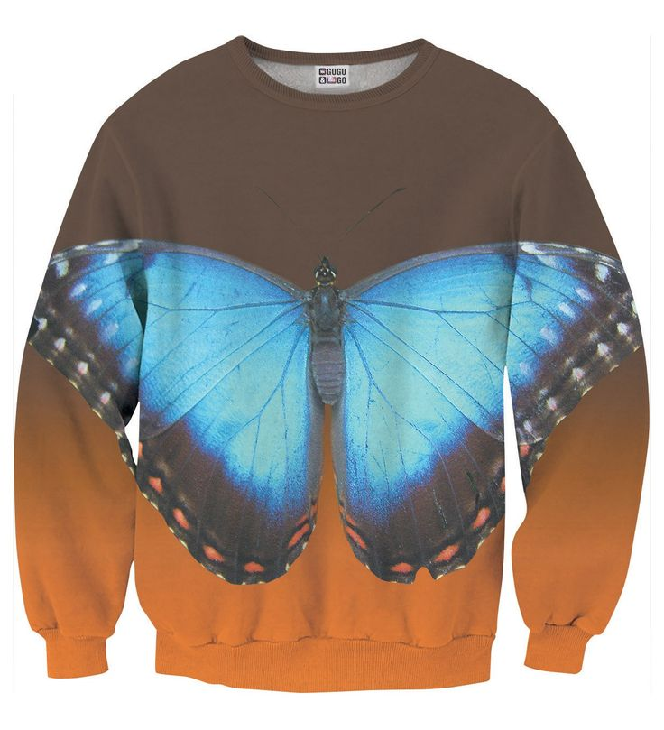 Blue Butterfly sweater, Mr. GUGU & Miss GO