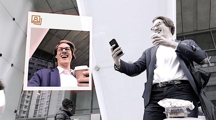 Just in Time – die Vermessung der Welt einmal anders  Smartphone ist dein Freund und Helfer, das intelligente Gerät erinnert dich an Geburtstage und an Meetings, misst den Kaloriengehalt deiner Mahlzei...