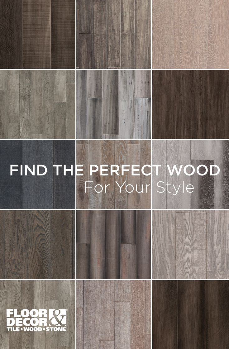 Wood By Material Color And Species From Floor Decor