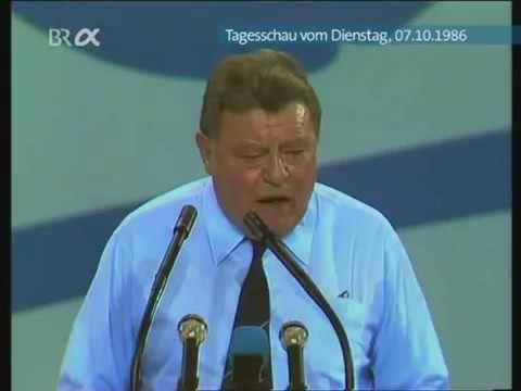 Franz Josef Strauss hat das wahnsinnige Merkel schon 1986 vorausgesehen – YouTube – Katja Pollnick