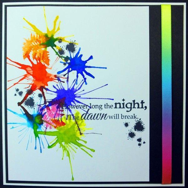 AquaTints® from Spectrum Noir - project by Diane Whitehouse using Primaries set #aquatints