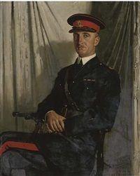 Portrait of Major Middleton O'Malley Keyes, 1921