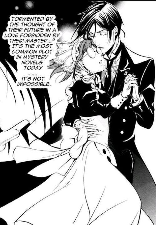 Black Butler Mey Rin Nose Bleed