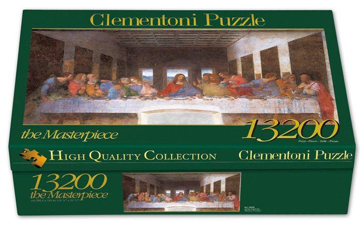 Puzzle Das letzte Abendmahl 13200 Teile Leonardo da Vinci