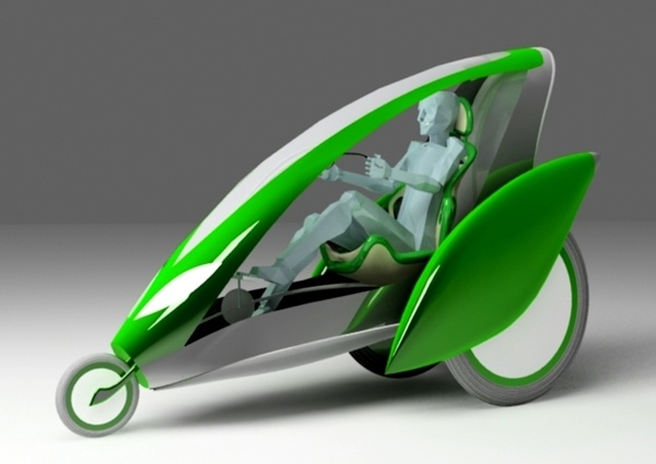 Eco Vehicle by Irina Alexandru/ AIRA design studio , via Behance