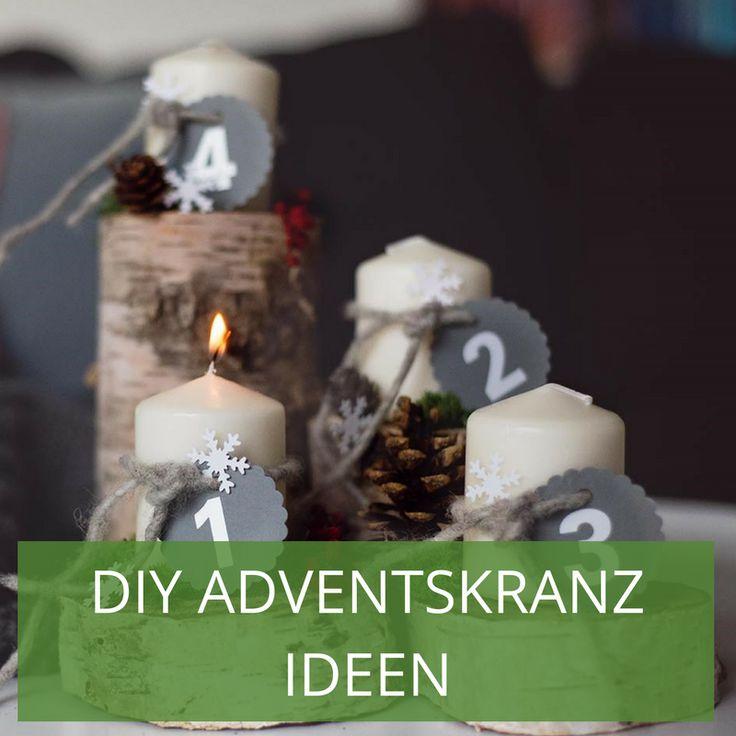 Adventskranz Stylish 54 best diy adventskranz ideen images on