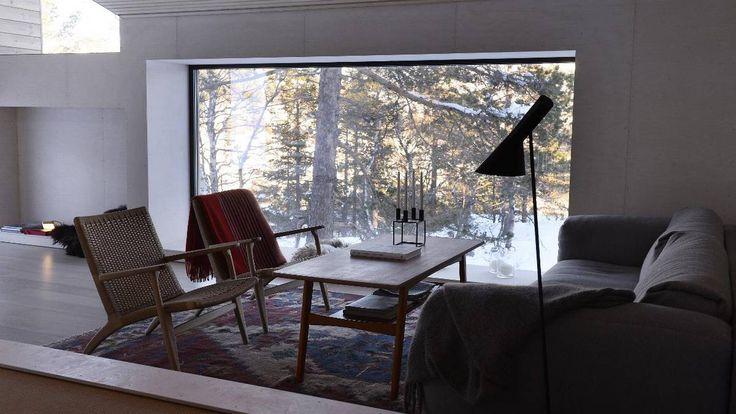 Slik tok han naturen inn i hytta - Aftenbladet.no
