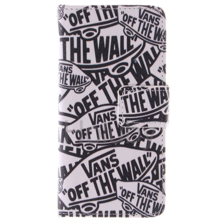 Quermuster Wallet Magnetic Schlag-Standplatz TPU   PU-Leder Tasche für iPhone 5S 5 Marke