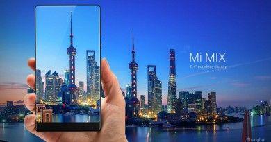 Xiaomi Edgeless Smartphone