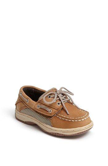 Sperry Top-Sider® Kids 'Billfish' Boat Shoe (Walker & Toddler) available at #Nordstrom