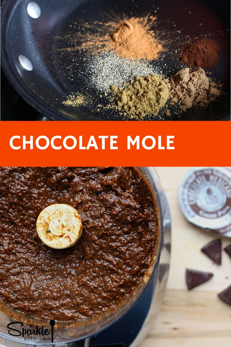Mexican mole recipes easy