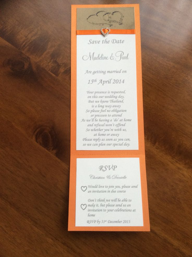 how early should you send out wedding shower invitations%0A Add a dash of colour with a bright invitation like this one    weddingstationery