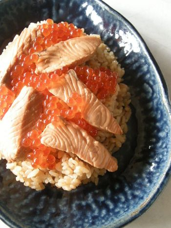 Salmon + Ikura Don はらこ飯