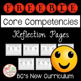 Core Competencies in the Classroom, BC's New Curriculum freebies