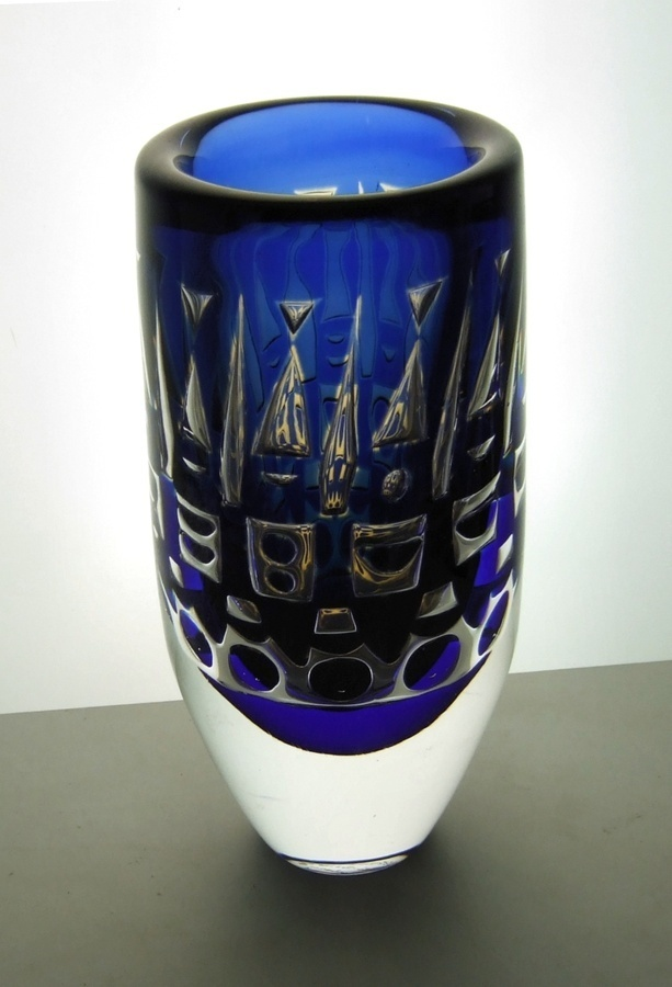 1976 Ingeborg Lundin ariel vase