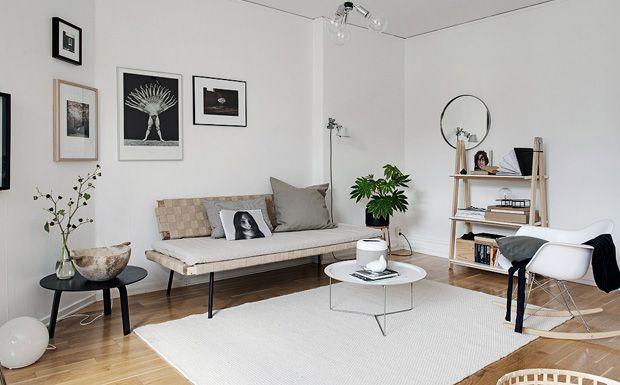 Une d co sobre et pur e place id es pour la maison et for Decoration maison facebook