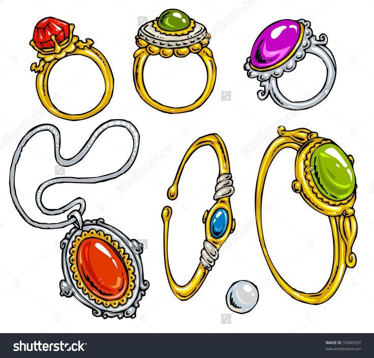 36 Best Jewelry Clip Art Images On Pinterest Jewellery