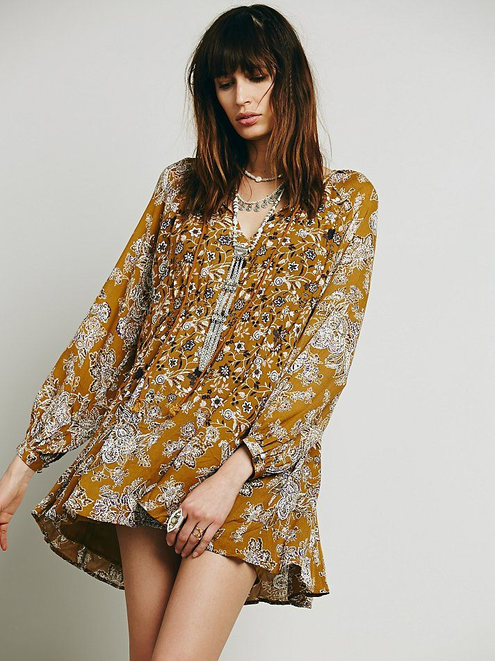 Free People Lucky Loosey Shapeless Dress at Free People Clothing Boutique