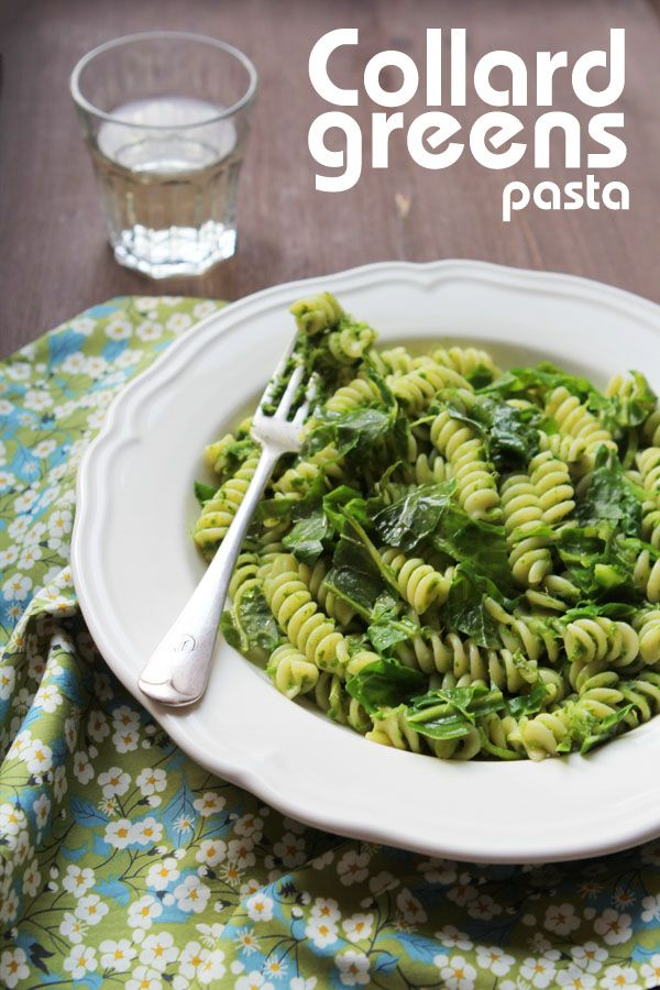 Miss Foodwise | Celebrating British food and culture: Pasta with Haak or Collard Greens