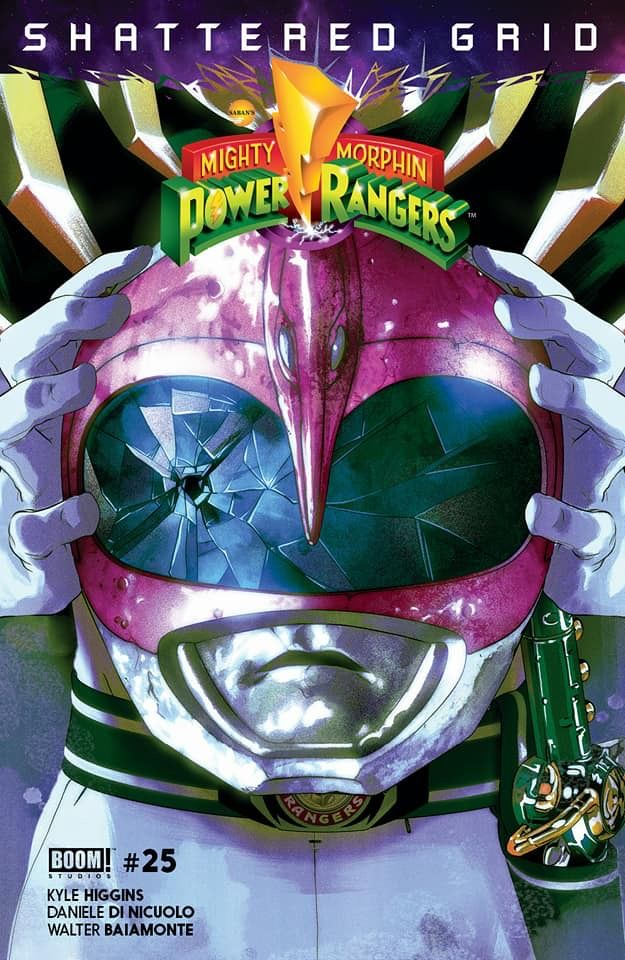 Power Rangers Shattered Grid Pink Ranger With Images Power