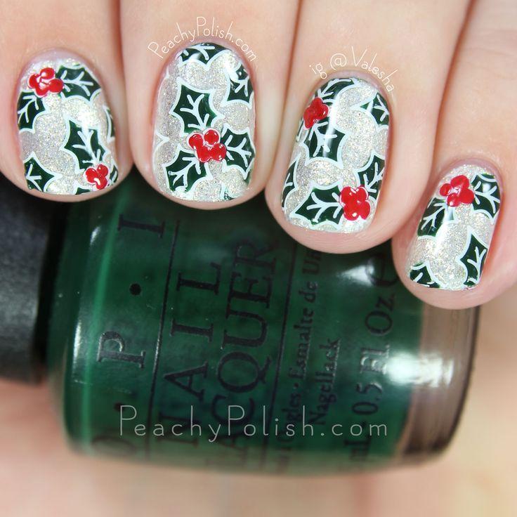 47 mejores imágenes de Nail the Holidays! en Pinterest | Navidad ...