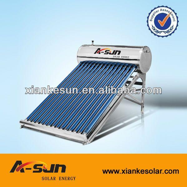 Acheter meilleures ventes en acier inoxydable 200L Portable Compact chauffe - eau solaire