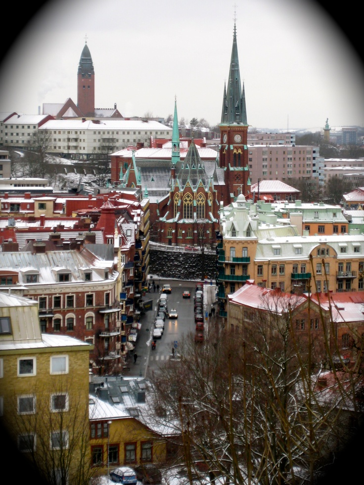 Goteborg, Sweden (and very close to where I work!)