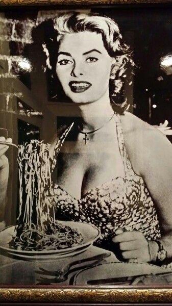 """""""All I have I owe to spaghetti ~ Sophia Loren"""