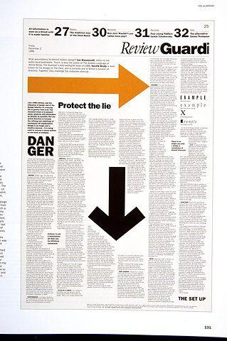 """Neville Brody, the Guardian, Londres, 2 de Diciembre 1988, Artículo de Brody sobre la """"industria del diseño"""""""