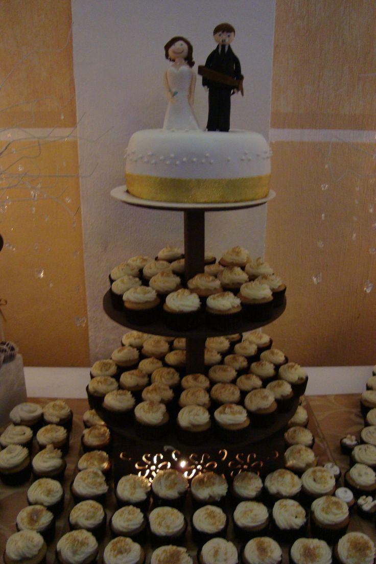 El pastel!