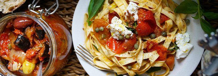 Hemkop.se | Spaghetti med tomat och ricotta